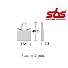 SBS 838 Brake Pad Kit