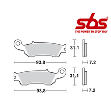 SBS 840 Brake Pad Kit