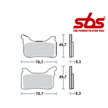 SBS 815 Brake Pad Kit