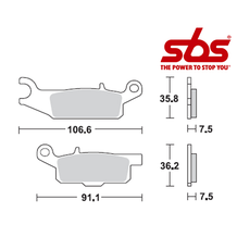 SBS 849 Brake Pad Kit