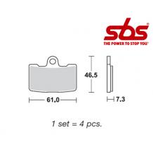 SBS 856 Brake Pad Kit
