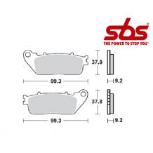 SBS 862 Brake Pad Kit