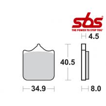 SBS 870 Brake Pad Kit
