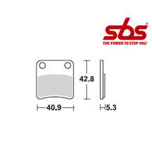 SBS 879 Brake Pad Kit