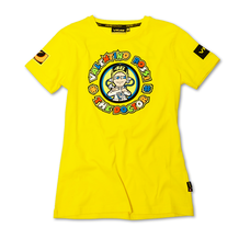 Ladies T-Shirt Rossi 46 The Doctor Yellow