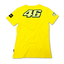 Ladies T-Shirt Rossi 46 The Doctor Yellow Back