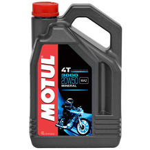 Motul 3000 4T 20W50 Mineral Oil 4 Litres