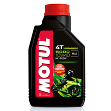 Motul 5000 4T 10W40 Semi Synthetic Oil