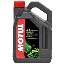 Motul 5000 4T 10W40 Semi Synthetic Oil 4 Litres
