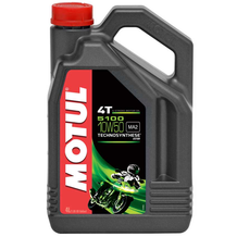 Motul 5100 4T 10W50 Semi Synthetic Oil 4 Litres