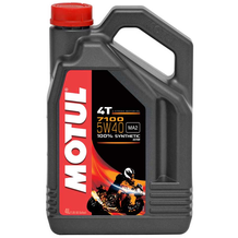 Motul 7100 5W40 4T Synthetic Oil 4 Litres