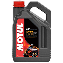 Motul 7100 4T 10W30 Synthetic Oil 4 Litres
