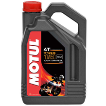 Motul 7100 10W50 4T Synthetic Oil 4 Litres