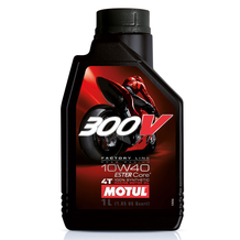 Motul 300V 10W40 4T Factory Line Synthetic Oil