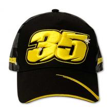 Paddock Cap Crutchlow 35 Black One-Size