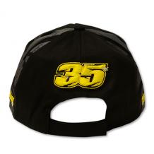 Paddock Cap Crutchlow 35 Black One-Size Back