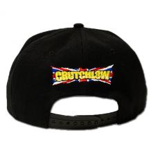 Flat Visor Cap Crutchlow 35 Black One-Size Back