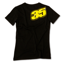 Ladies T-Shirt Crutchlow 35 Black Back