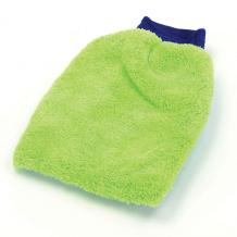 2 in 1 Microfibre Wash Mitten Sponge