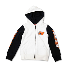 Kids Zip Fleece Hoodie Pedrosa 26 White