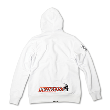 Ladies Zip Fleece Hoodie Pedrosa 26 White Back