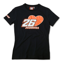 Ladies T-Shirt Pedrosa 26 Blue