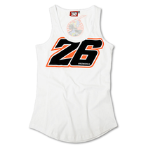 Ladies Vest Pedrosa 26 White