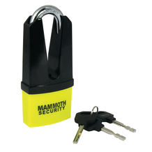 Mammoth Maxi Disc Lock 11mm Shackle