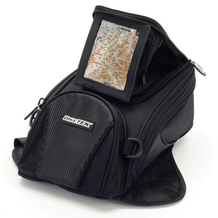 Motorcycle Tank Bag Midi With GPS Pod In Use