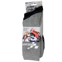 MotoGP Everyday Socks 3 Pair Multipack All Colours