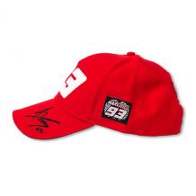 Paddock Cap Marquez 93 Red Universal Left
