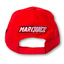 Paddock Cap Marquez 93 Red Universal Back
