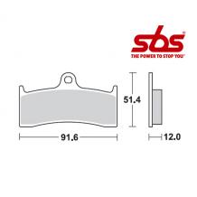 SBS 779 Brake Pad Kit