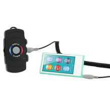 Sena SM10 Dual Stream Bluetooth Stereo Transmitter Connected
