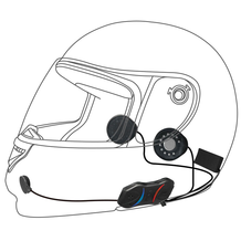 Sena SMH10R Bluetooth Stereo Intercom Drawing