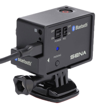 Sena Bluetooth Audio Pack for GO PRO In Use