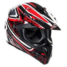 Stealth MX Helmet HD210 Droid Red