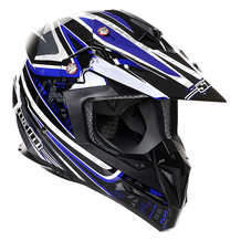 Stealth MX Helmet HD210 Droid Blue