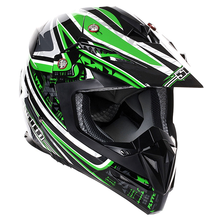 Stealth MX Helmet HD210 Droid Green