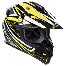 Stealth MX Helmet HD210 Droid Yellow