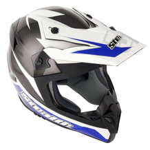 Stealth Helmet HD210 MX Carbon Stealth GP Replica - Blue