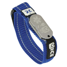 UTAG Digital USB Sports Blue Wrist Band