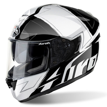 AIROH Helmet ST 701 Full Face Motorcycle Helmet - Way Black Gloss