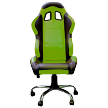 BikeTek Kawasaki Team Chair Green With Black Trim