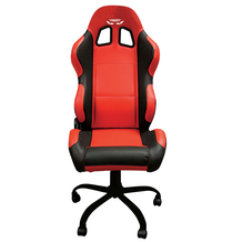 Team Chair Foggy Red With Black Trim