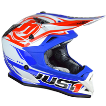 JUST1 J32 Rave Crash Helmet Blue/Red