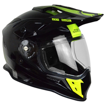 JUST1 J34 Shape Adventure Crash Helmet - Neon Yellow