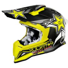 JUST1 MX Crash Helmet J12 Carbon - Rockstar 2.0
