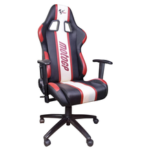 MotoGP Rider Paddock Team Chair With Armrests Red / White / Black