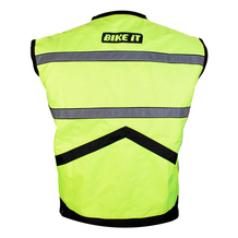 Hi-Vis Reflective Gilet back view